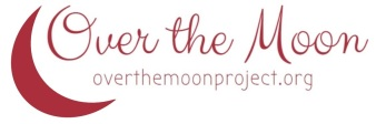 over the moon logo - trim